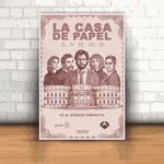 Placa Decorativa - La Casa de Papel