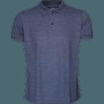 Camisa Polo Masculina Marinho Mescla