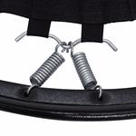 Gancho Bigode W Mini Cama Elastica Jump Profissional Aço - Prata