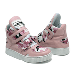 Sneaker Para Academia e Dança Camuflado Rosa