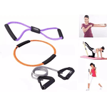 Kit Extensor Elástico Liveup Exercícios de Ginástica 3 Tensões