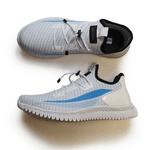 Tênis de Corrida Branco com Azul Bebe Iron Flex