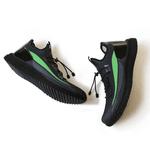 Tênis de Corrida Verde Neon Iron Flex