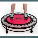 Mini Cama Elástica Jump Profissional + Step + Capa - Rosa