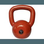 Kettlebell Emborrachado 12 Kg Crossfit Treinamento Funcional Musculação