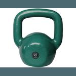 Kettlebell Emborrachado 20 Kg Crossfit Treinamento Funcional Musculação