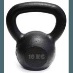 Kit 10 Kettlebell Pintado 10 Kg Crossfit Treinamento Funcional Musculação