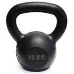 Kit 10 Kettlebell Pintado 18 Kg Crossfit Treinamento Funcional Musculação