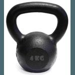 Kit 10 Kettlebell Pintado 4 Kg Crossfit Treinamento Funcional Musculação