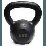 Kit 10 Kettlebell Pintado 6 Kg Crossfit Treinamento Funcional Musculação