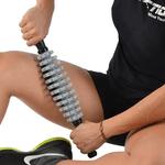 Rolo De Massagem Liberação Miofascial Modulado Pro Proaction - Cinza