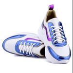 Tênis Feminino Linha Verão Mr. Gutt - Branco/Azul