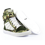 Tênis Bota Treino Sneaker Feminino Fitness Camuflado
