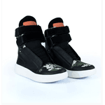 Tênis Bota Treino Sneaker Feminino Fitness Preto Camuflado