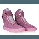 Tênis Bota Treino Sneaker Feminino Fitness Academia Rosa
