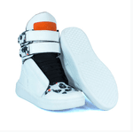 Tênis Bota Treino Sneaker Feminino Fitness Branco Caveira