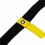 Escada Agilidade KL Master Fitness 5 Unidades e DVD - Amarelo