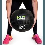 Wall Ball Couro Crossfit Funcional Medicine Ball 12 Kg