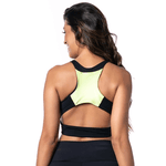 Top larulp denver swimmer pocket - PRETO/VERDE/BRANCO