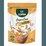CHIPS DE COCO COPRA SABOR GENGIBRE - 60G - LE VERT NATURAL