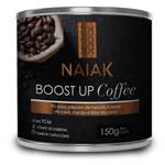 BOOST UP COFFEE SABOR CAPUCCINO EM PÓ - 150G - LE VERT NATURAL