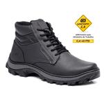 Bota Segurança EPI CA Gogowear 100% Couro ref Safe cor Preto