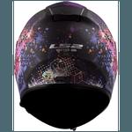 CAPACETE LS2 FF397 VECTOR COSMOS/MATT/BLACK/PINK