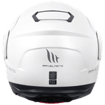 CAPACETE MT ATOM SOLID GLOSS WHITE