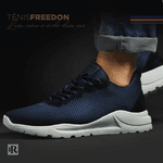 Tênis Freedon em Nylon - Azul