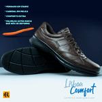 Sapato Laroche Lisboa em Couro de Carneiro - Café