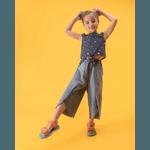 Papete Mini Melissa + Rider Infantil Amarelo Azul Lilas