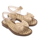 Sandalia Mini Melissa Mar Sandal Princess Dourada 33473