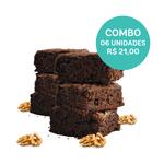 combo brownie vegano 06 unidades (60g) mr. veggy