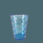 Copo Twister sem tampa e sem canudo 700ml - Caixa com 50 unidades Azul