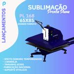 Prensa Plana PL 168 | 65X85 - Bandeja deslizante, aviso sonoro e contador de peças