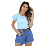 Blusa Luísa - Azul Bebê
