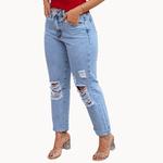 Calça Jeans Mom Nexxo - Granizada