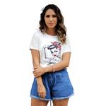 T-Shirt Girl Power Force - Off White