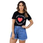 T-Shirt Self Love - Preto