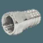 Conector tipo F de Crimp para cabo RG06
