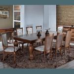 Sala de Jantar Com Mesa (2,50m) + 8 cadeiras - Linha Beirute