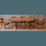 Mesa De Jogos Luxo (2,60m) + 8 Cadeiras Hillux