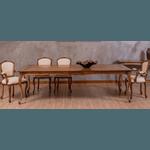 Sala de Jantar Com Mesa Tommy (2,30m) + 10 Cadeiras Tommy