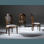 Sala de Jantar em Madeira Luxo com Mesa Tampo de Vidro de 2,00m, 8 Cadeiras e 1 Balcão