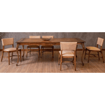 Sala de Jantar Com Mesa Tommy (2,30m) + 10 Cadeiras Clara Enc. Tecido