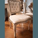 Conjunto Mesa de Jantar Antique Retangular Com Dois Módulos + 10 Cadeiras Bourbon