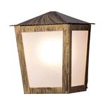 Arandela Colonial Quadrada Ouro Velho Ideal Iluminação L-15-B OV
