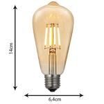 Lâmpada Led Filamento Bivolt GMH Trade LST64-SC-4W