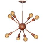 Lustre Pendente Sputnik Para 8 Lâmpadas