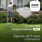 Mangueira Expansível 22,5m Azul Made Basics ME-1A